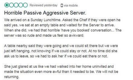 Restaurant Calls Visitor A Moron And Epic Tool After Review
