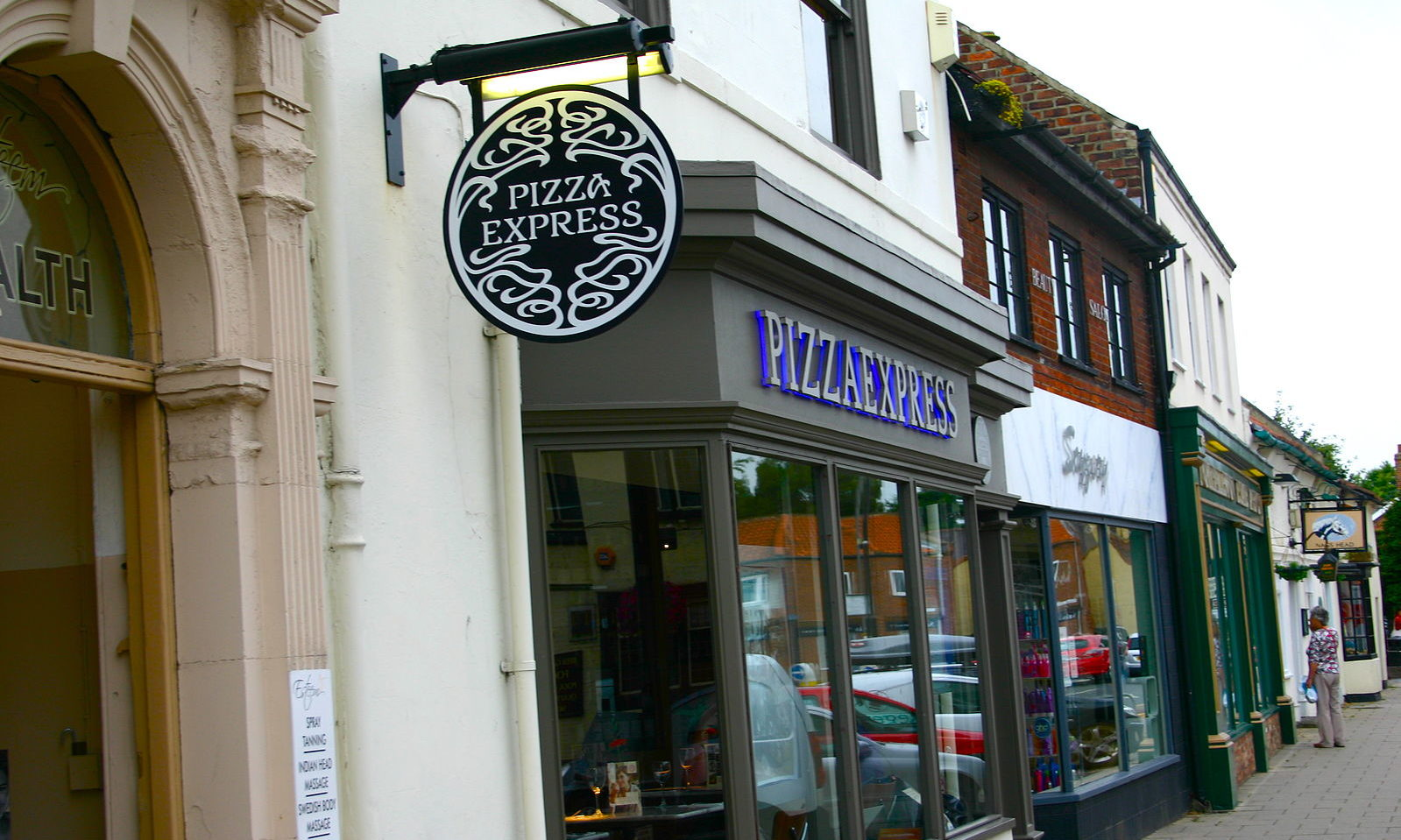 Royal Wedding Reception Pizza Express Order Post