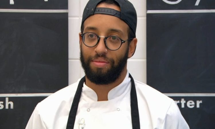 James Cochran appeared on the Great British Menu on 20 August