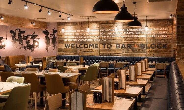 Bar + Block Aldgate  Image credit:  https://www.instagram.com/tomjoyphoto