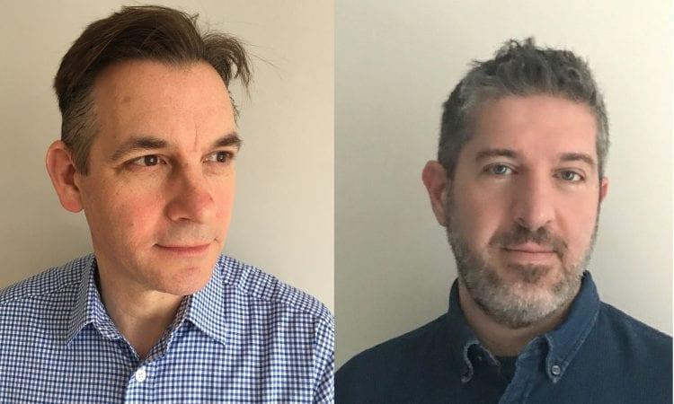 L-R: Bruce Craig and Marco Barletta
